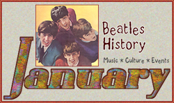 John Lennon and Beatles History for January