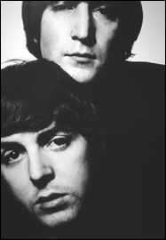 A Beautiful Portrait Of John Lennon And Paul McCartney Taken In 1965 Tribute To