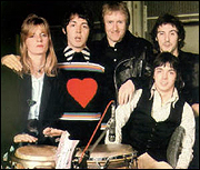 Wings As The Group Was In 1974 Left To Right Linda McCartney