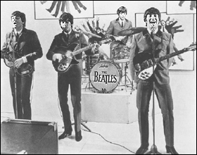 The Beatles Polska: AHDN - scena koncertu w TV